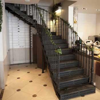 """Чугунная маршевая лестница """"мл-5007"""""""