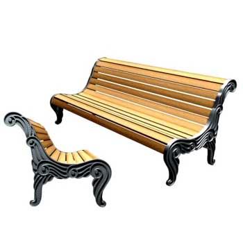 Чугунная скамейка Ск-0120