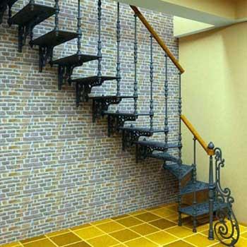 """Чугунная маршевая лестница """"мл-5001"""""""