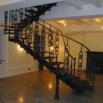 """Чугунная маршевая лестница """"мл-5002"""""""