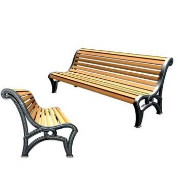 Чугунная скамейка Ск-0113
