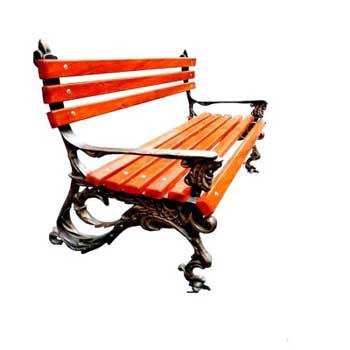 Чугунная скамейка Ск-0115