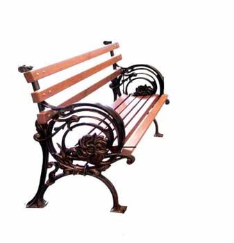Чугунная скамейка Ск-0126